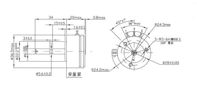 电位器|导电塑料电位器|精密导电塑料电位器|wdd35d